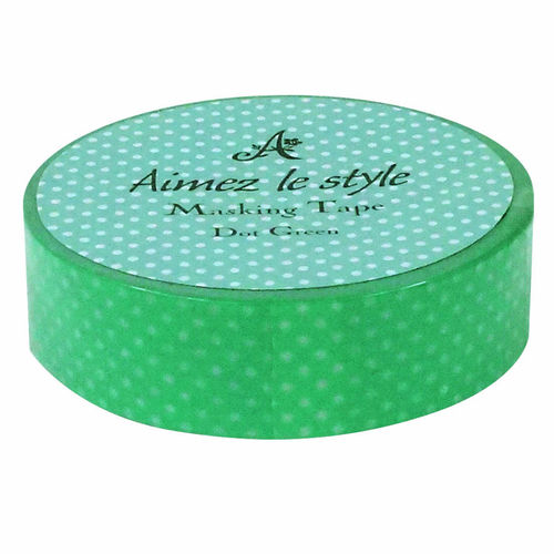 Dot Green 15mm / 12 m