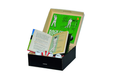 "Golfbox - "" Home-Golftraining "" Geschenkbox"