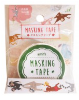 Affenbande hell, Washi Tape