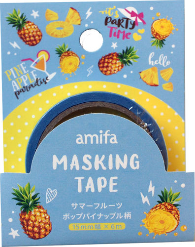 Annanas fruits, Washi Tape