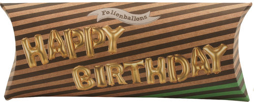 Happy Birthday - Folienballon