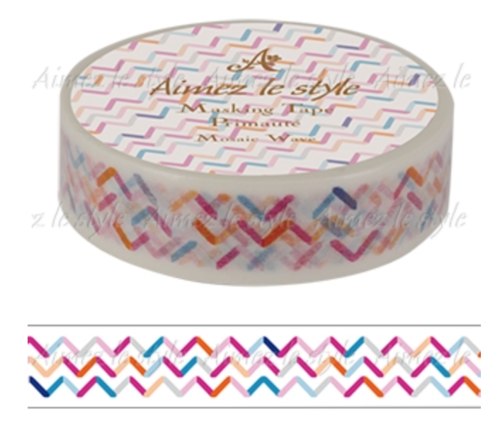Mosaic Wave / Washi Tape